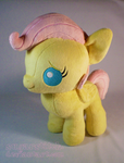 MLP FiM: Baby Fluttershy Plush by sugarstitch