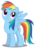 MLP:FIM - Vector #16 - Rainbow Dash #4 by DashieSparkle