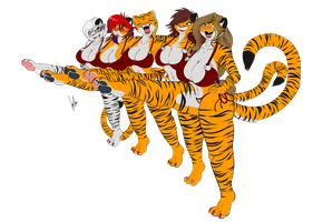 Tigress Line by BagelCollector