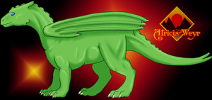 Atricis Baby Dragon by Marvealle