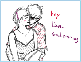 Good Morning :Doodle or Die: by ArcticFoxKit