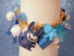 Snips Snails and Puppy Dog Tails Charm Bracelet by PoniesOfDOOOM