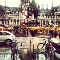 Manchester - Christmas Markets by Merczoid