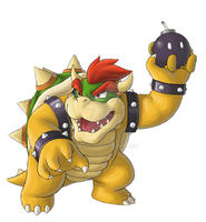 B for Bowser by Luphin