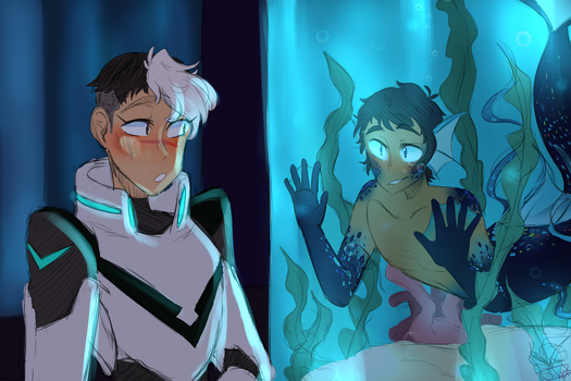 Voltron: Mermaid Au by SilverKnight27