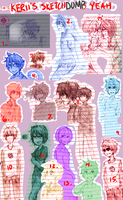 homestuck sketchdump by R-25