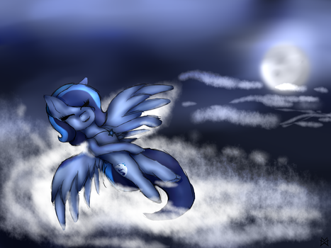 [Gift] Moonlight Apple by Maxima68