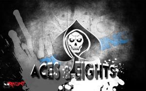Aces and Eights 1280x800 by RedScar07