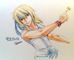 lucy like a men by luna460