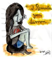 Marceline I remember you Simon by marcisofi