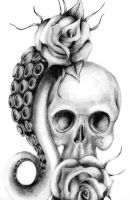 Skull n' Roses by Bunny--Vomit