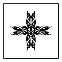 Tribal Cross by shepush