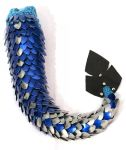 Blue and Silver Dragon Tail - ss5gogetunks by SerenFey
