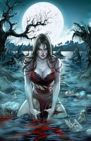 Zenescope GFT Werewolves: The Hunger #1B, M. Krome by sinhalite
