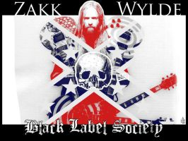 ZAKK WYLDE SOUTHERN FLAG by Elowd