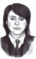 Gerard Way - pen sketch by alasalynx