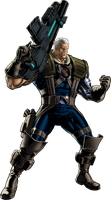 Marvel Avengers Alliance X-men Cable by ratatrampa87