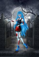 Monster High - Ghoulia Yelps by LindaNoul