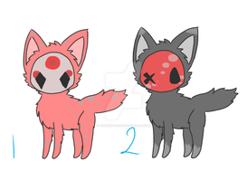 Masked Adopts- AUCTIONS (ONE LEFT) by truerefrain