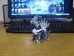 Dialga Papercraft by AUSTINMEADOWS
