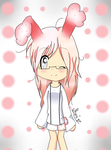 Pink Easter Bunny by Ari-x1D