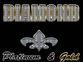 Diamond gold platinum styles by Wormchow