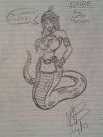 CLAIR - THE LATEX MEDUSA (Sketch) by nek0master