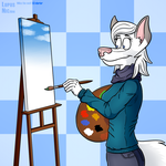 Mika The Wolf by LupusNic