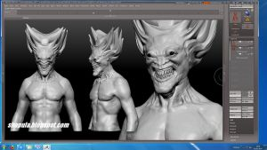 Zbrush Character - Lord Xachamial WIP #1 by Shapula