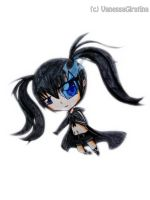 chibi Black Rock Shooter by VanessaGiratina