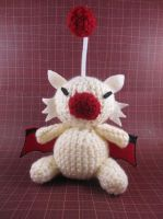 Amigurumi Moogle by AmiTownCreatures