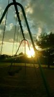 Swinging in the Sunset by IggyPicks