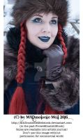 Wintertale Vintage Goth Girl Stock 010 by MADmoiselleMeliStock