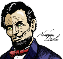 Abraham Lincoln by Dhencod
