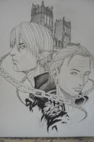 Fenris and Anders by Sieg-Lancaster