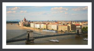 Budapest a view from the hill by GarfieldFreek