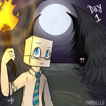 Dont Starve Day 1 by xXaldabutterXx