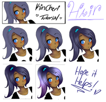 Tutorial::Hair by kincheri