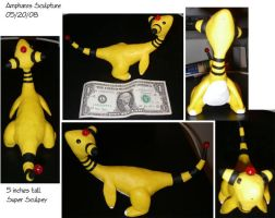Ampharos Sculpture