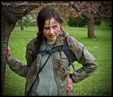 Me as Katniss Everdeen by Munchkinmay