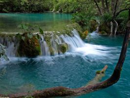 Plitvice - Turquoise and Blue by AgiVega