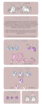 [OS Stuff] Boople Snoot Reference Sheet - MYO Info by banANNUmon