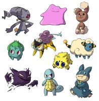 Pokestickers by Capori