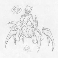 Zodiac - Kirsten Cancer by Hecates