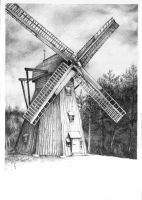 Windmill by yuhime