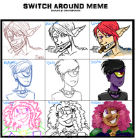 SWITCH-AROUND MEME by LowlyWorm