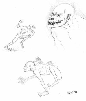 ghoul, concept 2 by vonHymack