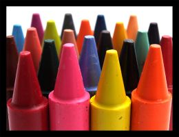 The colour of crayons by Bliss-imaging