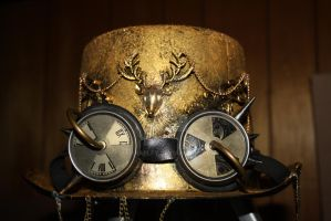Steampunk Tophat by SaieraElfy