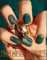 The Hobbit Nails by Ninails